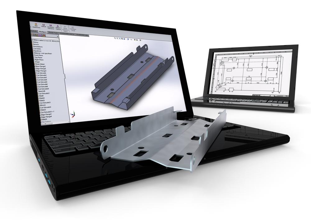 Bracket CAD design